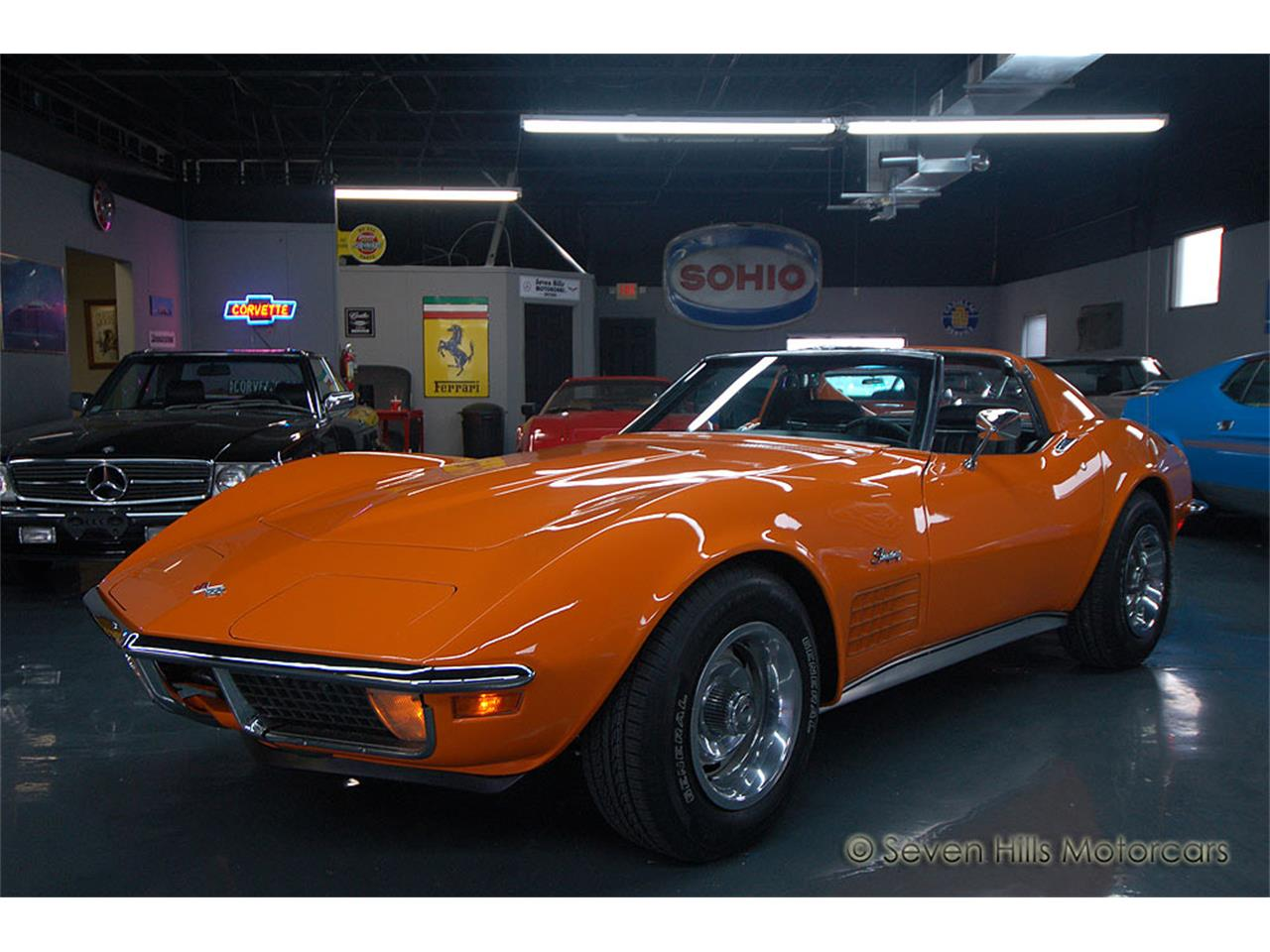 1971 chevrolet corvette for sale cc. Black Bedroom Furniture Sets. Home Design Ideas