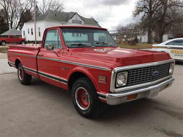Picture of '72 C10 Fleetside 'Long-Bed' Pickup - N9PW