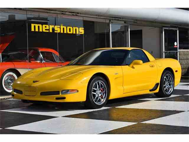 Picture of 2002 Chevrolet Corvette Z06 located in Springfield Ohio Offered by Mershon's - N9S6