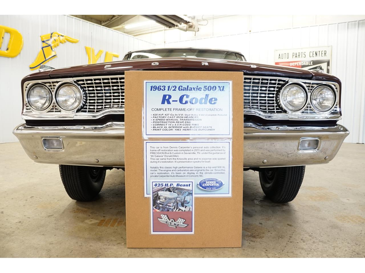 For Sale: 1963 Ford Galaxie 500 XL in Homer City, Pennsylvania