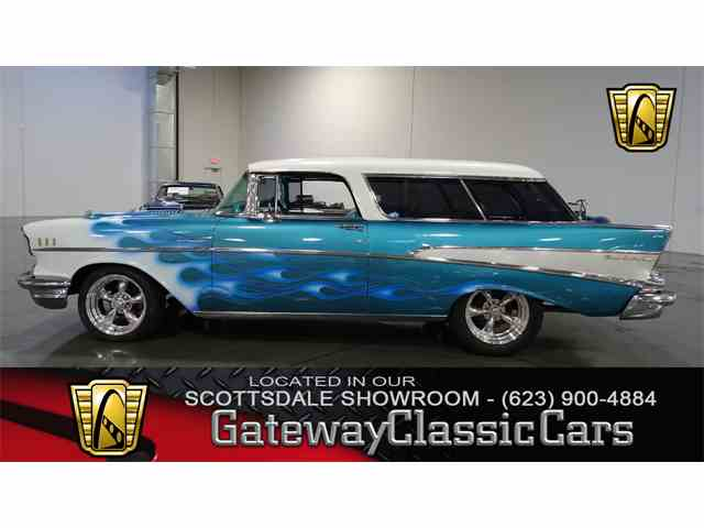 Picture of Classic 1957 Chevrolet Nomad located in Deer Valley Arizona - $83,000.00 Offered by Gateway Classic Cars - Scottsdale - N9WU