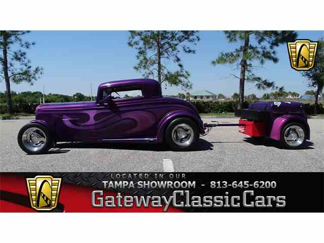 Picture of Classic 1932 Ford 3-Window Coupe located in Ruskin Florida - $105,000.00 Offered by Gateway Classic Cars - Tampa - N9X2