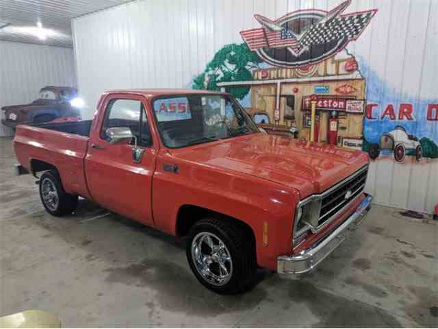 Picture of '78 Chevrolet C10 located in Michigan Offered by Classic Car Deals - NA6C