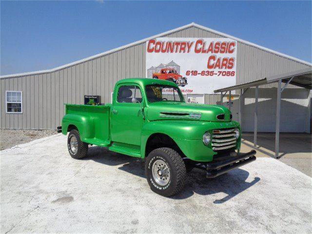 1949 Ford F250 For Sale Cc 1086307 4x4 Pickup Trucks In Staunton Illinois