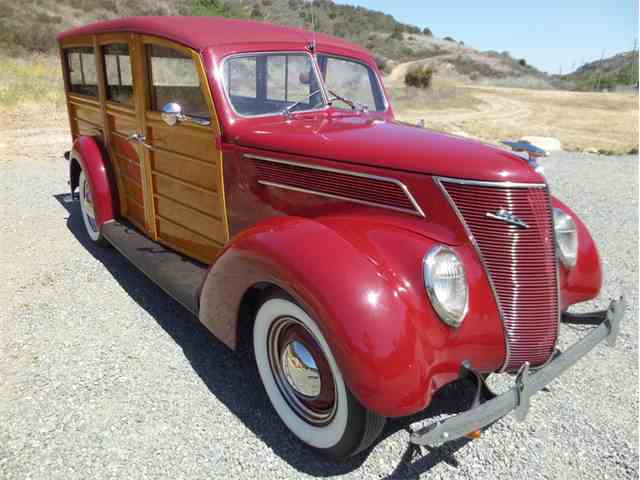 Picture of '37 Woody Wagon - NA7B