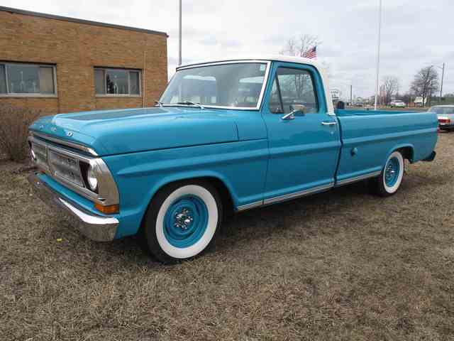 Picture of '71 F100 - NA7Z