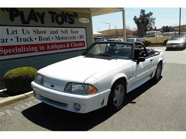 Picture of 1990 Mustang GT located in Redlands CALIFORNIA - NAAV