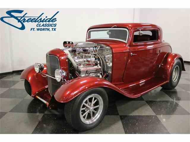 Picture of 1932 Ford 3-Window Coupe - $55,995.00 Offered by Streetside Classics - Dallas / Fort Worth - NABR