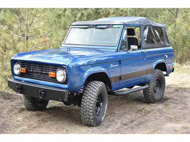 Picture of Classic 1968 Bronco Offered by a Private Seller - NAFH