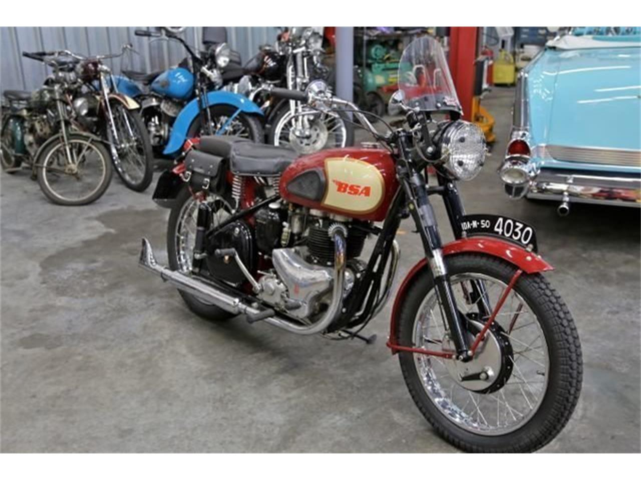 Large Picture of 1950 BSA Motorcycle located in Seattle Washington Offered by Drager's Classics - NAM7