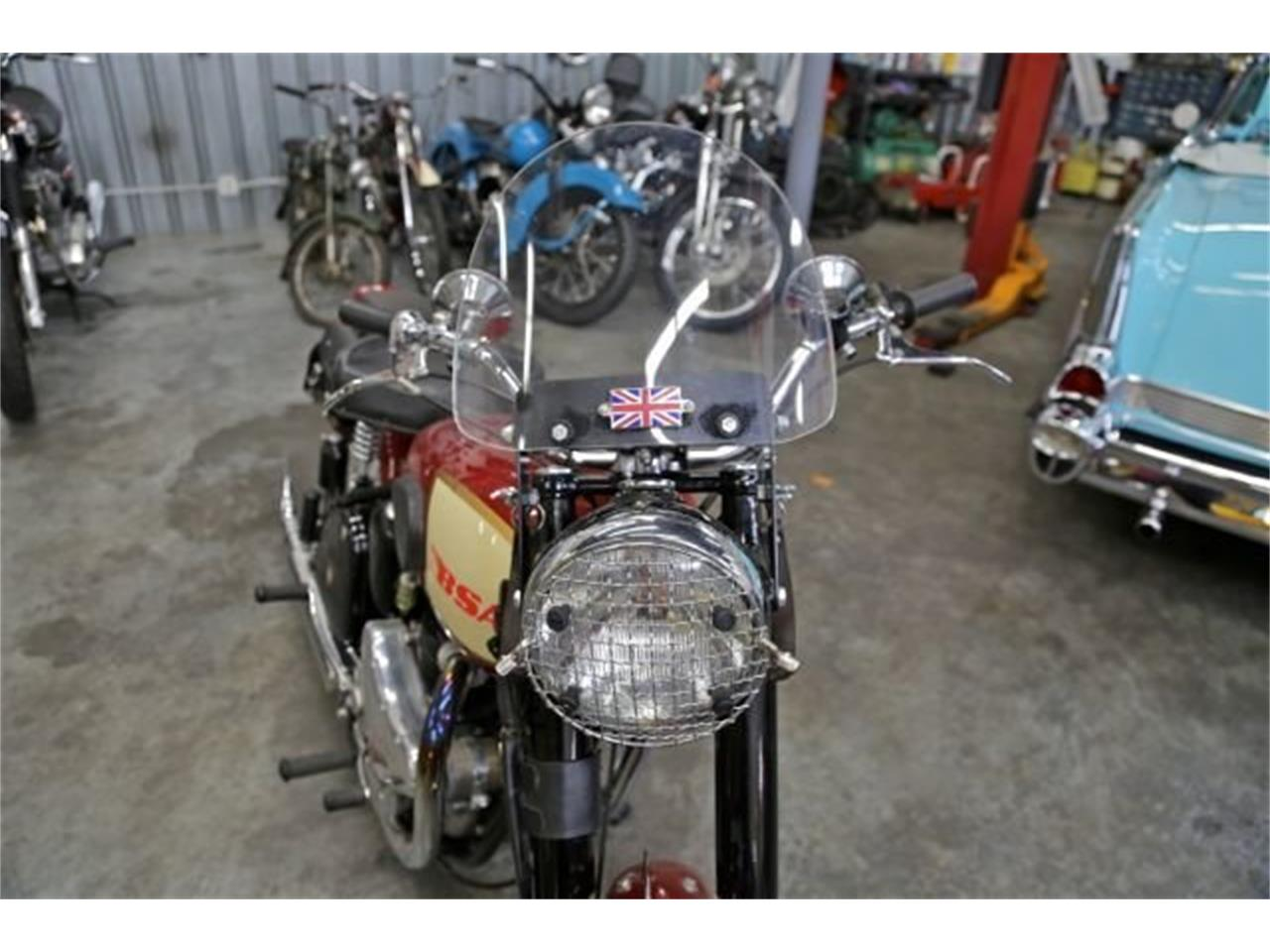 Large Picture of Classic 1950 BSA Motorcycle located in Seattle Washington - NAM7