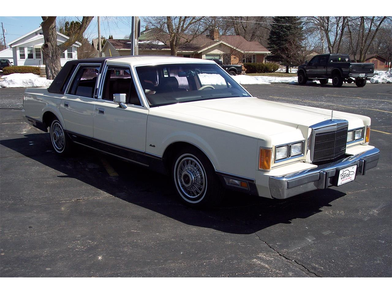 1989 Lincoln Town Car For Sale Classiccars Com Cc 1086955