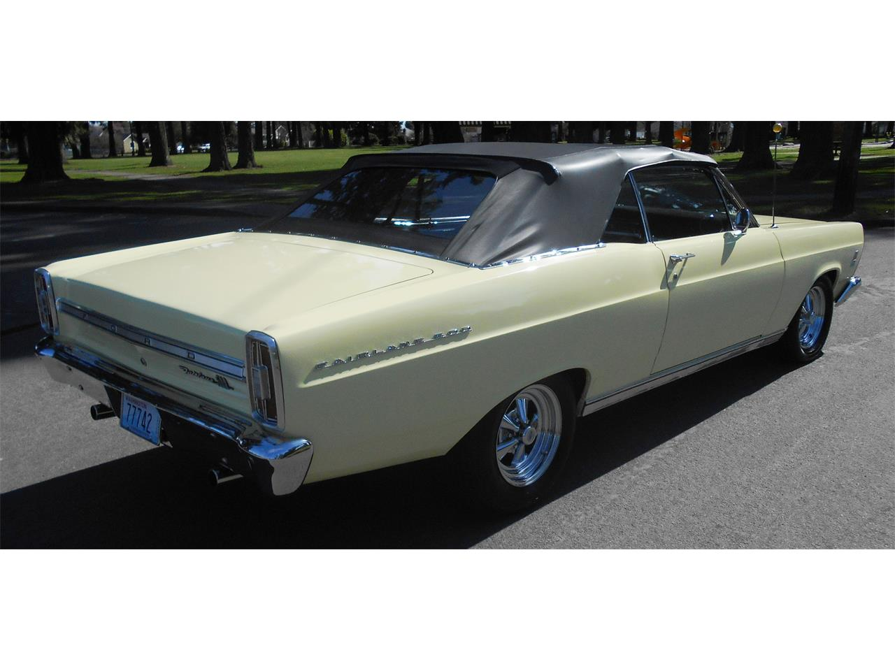 Large Picture of '66 Fairlane 500 - NAQR