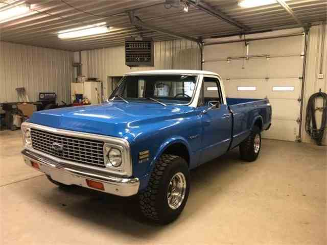 Picture of Classic 1972 Chevrolet C10 located in Cadillac Michigan - $20,495.00 Offered by Classic Car Deals - NATB