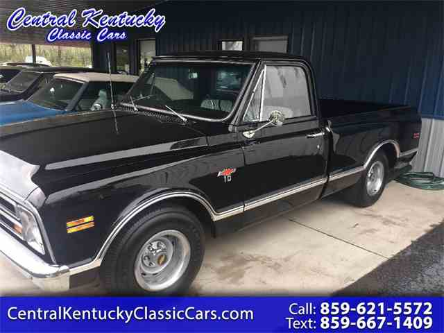 1967 to 1972 chevrolet c10 for sale on classiccars 1968 chevrolet c10 publicscrutiny Gallery