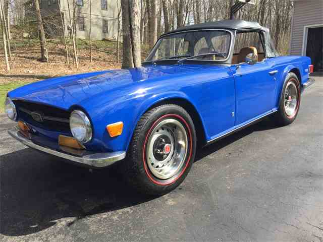 Picture of Classic 1972 Triumph TR6 located in Marlborough Connecticut - $15,000.00 Offered by a Private Seller - NAYP