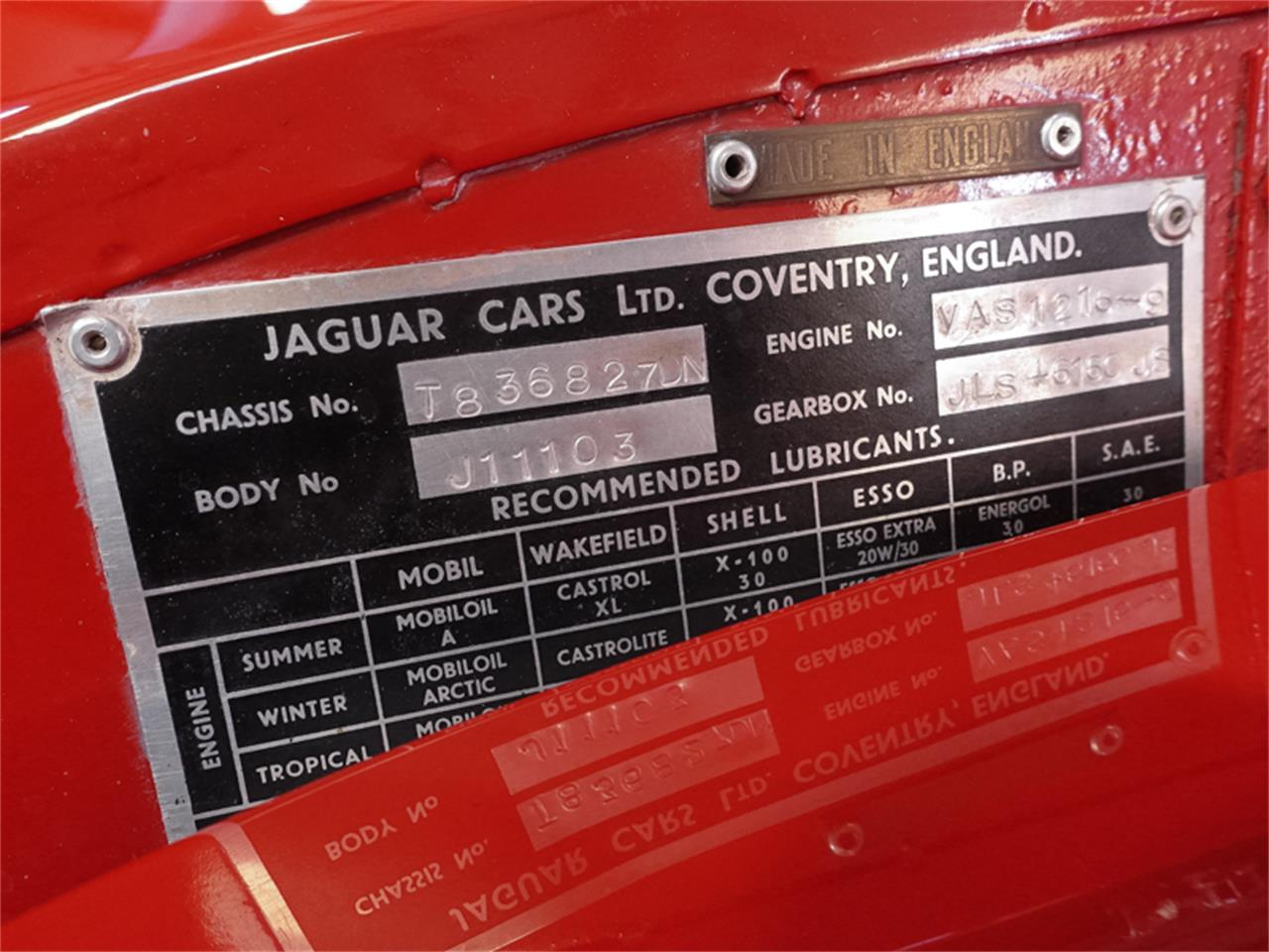 1961 Jaguar Xk150 For Sale Cc 1087326 Wiring Harness Large Picture Of 61 Nazi