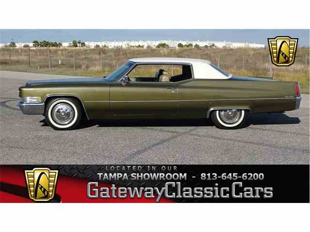 Picture of 1970 Cadillac Coupe DeVille - $13,595.00 Offered by Gateway Classic Cars - Tampa - NB1G