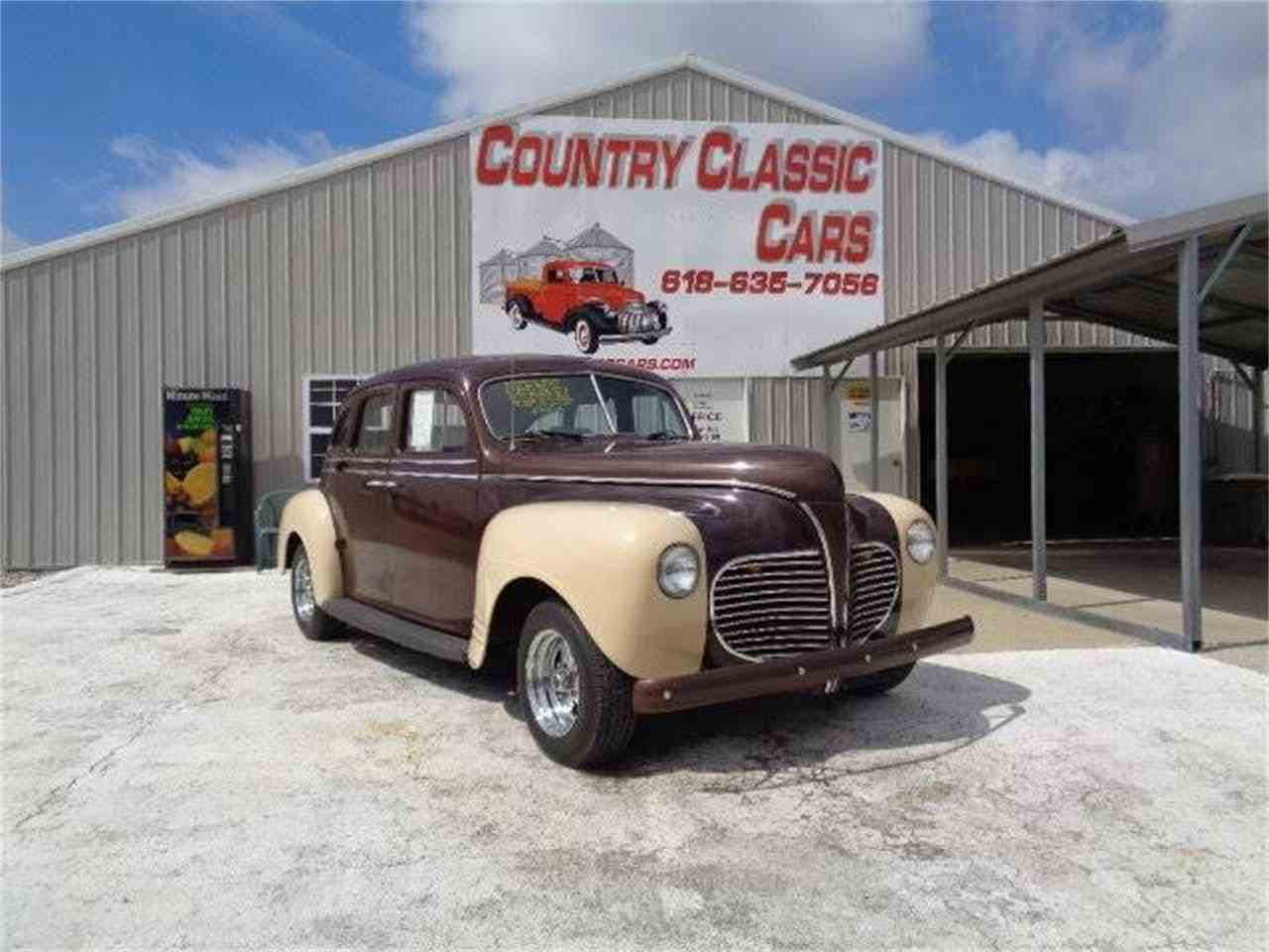 1941 Plymouth Street Rod for Sale | ClassicCars.com | CC-1087542