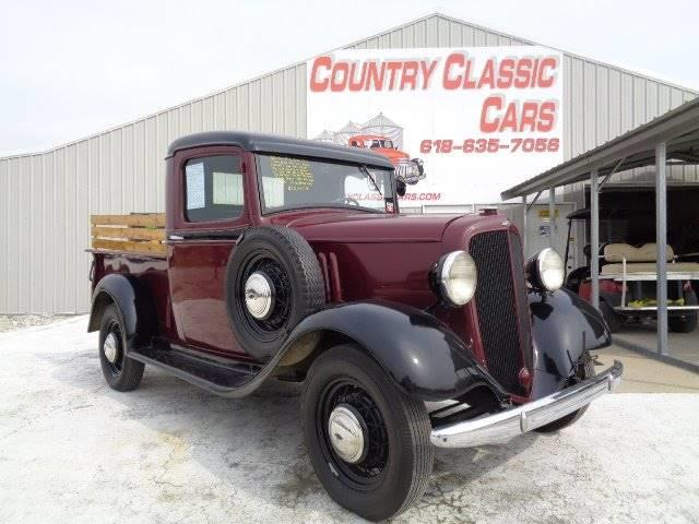 1934 to 1936 Chevrolet Pickup for Sale on ClassicCars com on