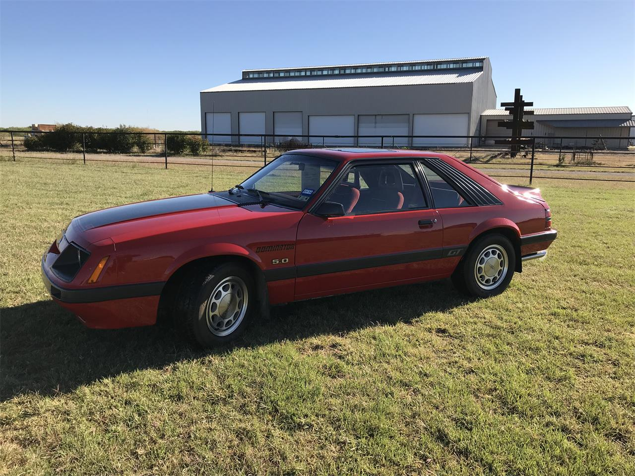1986 Ford Mustang Dominator Gt For Sale Cc 1087585 Large Picture Of 86 Nb6p