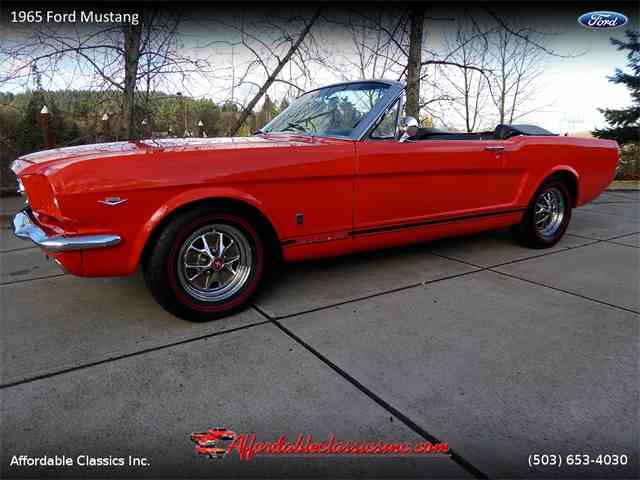 Picture of '65 Mustang - NB70