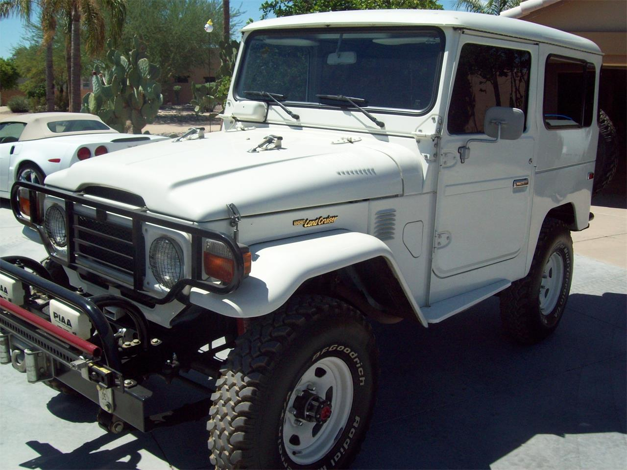 Toyota Fj40 For Sale >> For Sale 1983 Toyota Land Cruiser Fj40 In Peoria Arizona