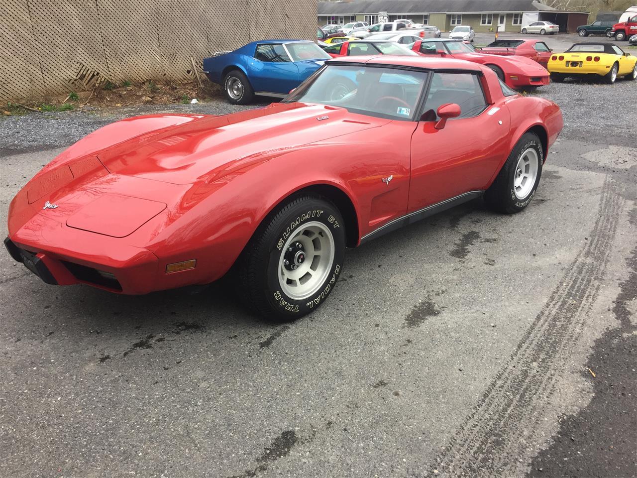 Large Picture Of 79 Chevrolet Corvette