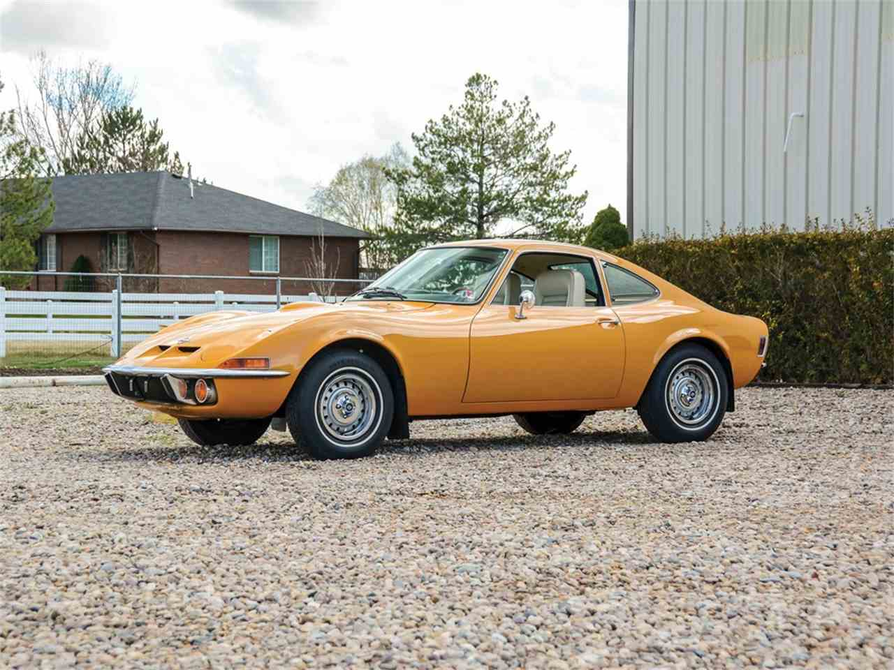 1971 Opel GT for Sale | ClicCars.com | CC-1080822