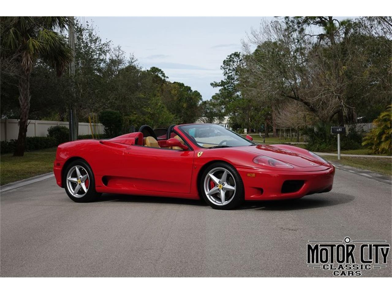 Large Picture of 2003 Ferrari 360 located in Florida Offered by Motor City Classic Cars - NBOQ
