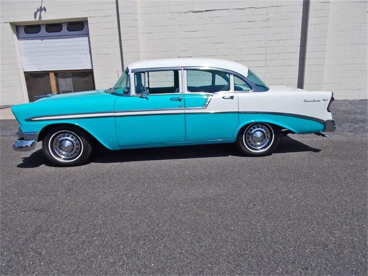 Large Picture of '56 Chevrolet Bel Air located in Riverside New Jersey - NBP8