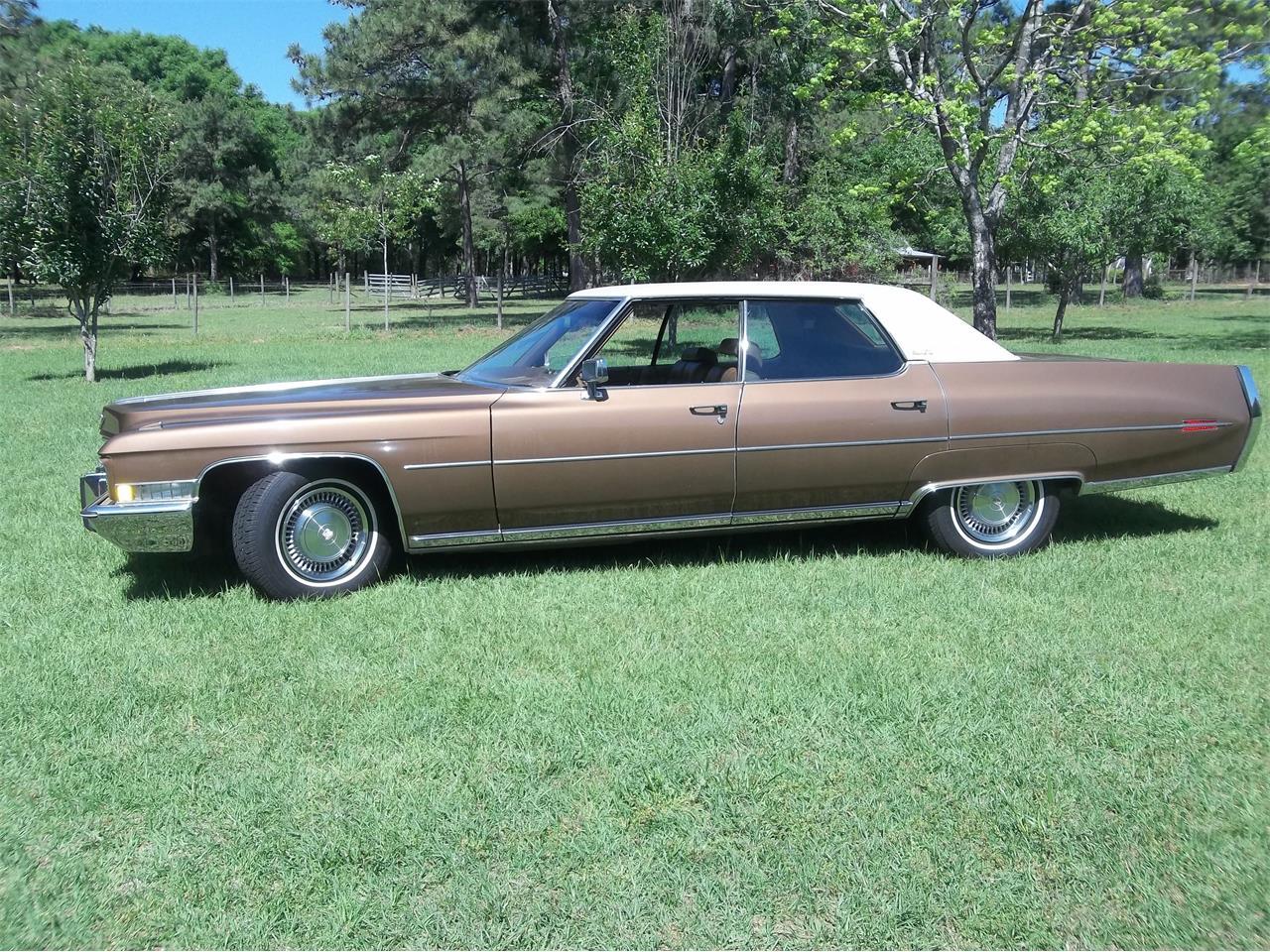 1972 Cadillac DeVille For Sale