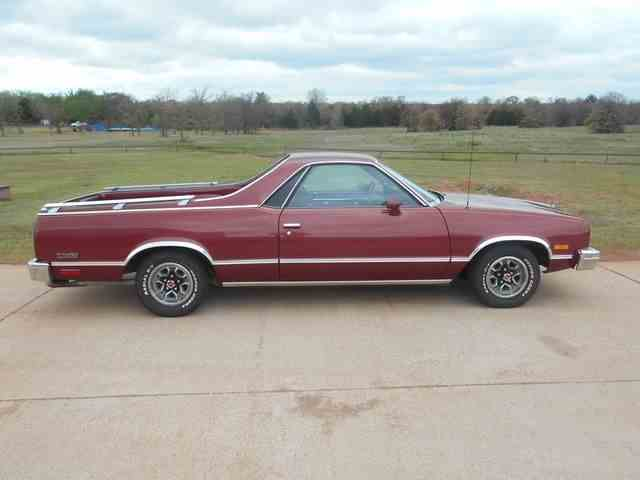 Picture of 1984 Chevrolet El Camino located in Blanchard Oklahoma - $10,500.00 Offered by  - NBU2