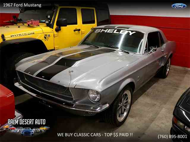 Picture of Classic 1967 Mustang located in Palm Desert  California - NBU5