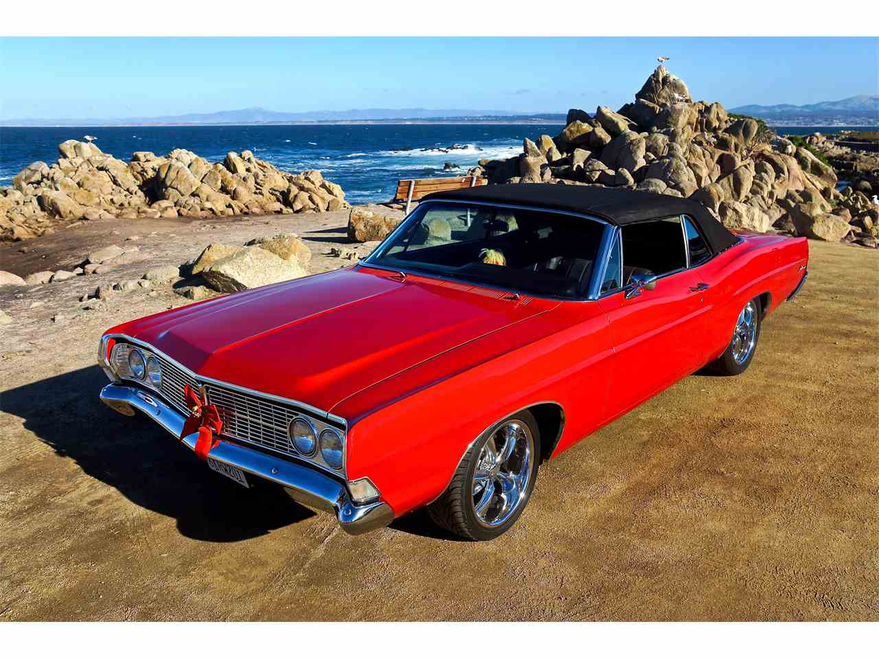 1968 ford galaxie 500 xl for sale cc 1088485. Black Bedroom Furniture Sets. Home Design Ideas