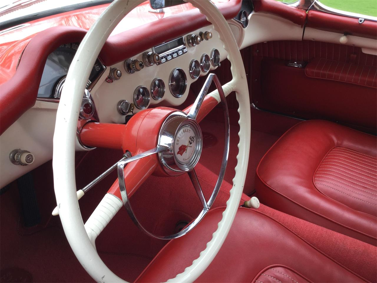 Large Picture of '54 Corvette - NBW3
