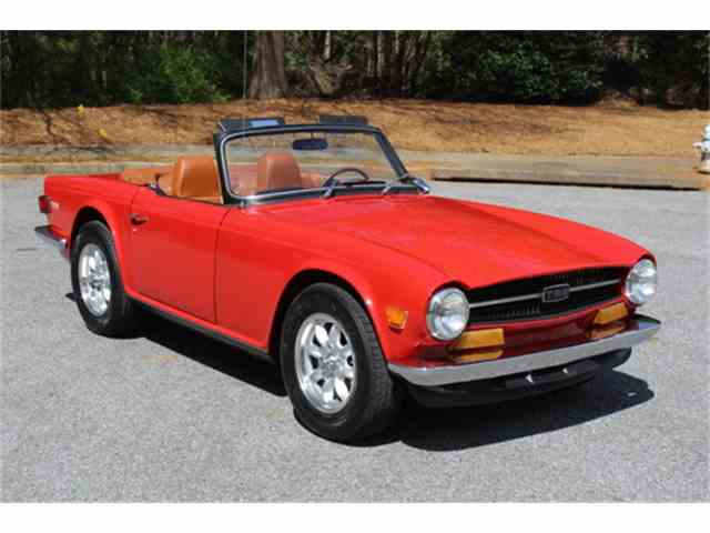 Picture of '71 TR6 - N5ZP