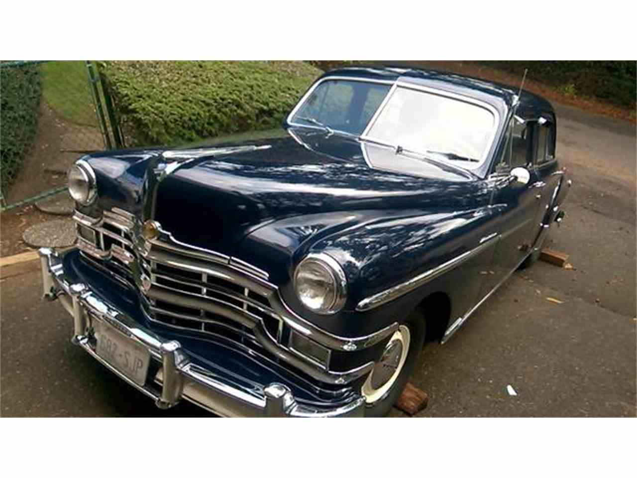 1949 Chrysler Royal For Sale Classiccars Com Cc 1088533