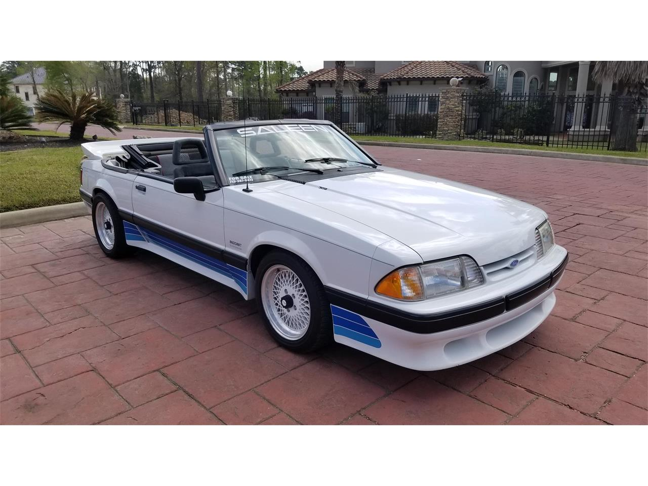 1989 Mustang Saleen For Sale
