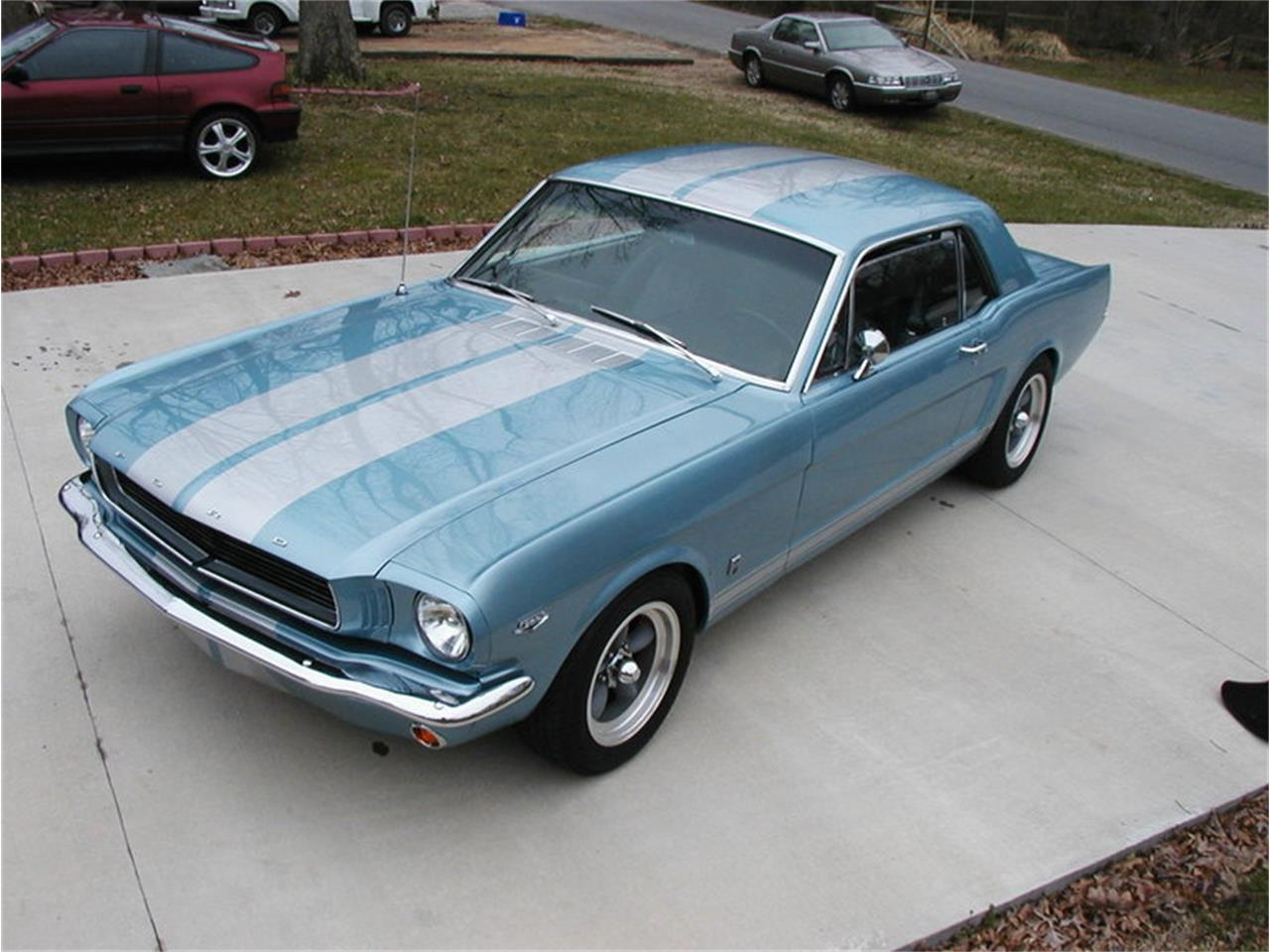 Large picture of 1965 mustang located in ohio offered by gem city classic autos nbyn