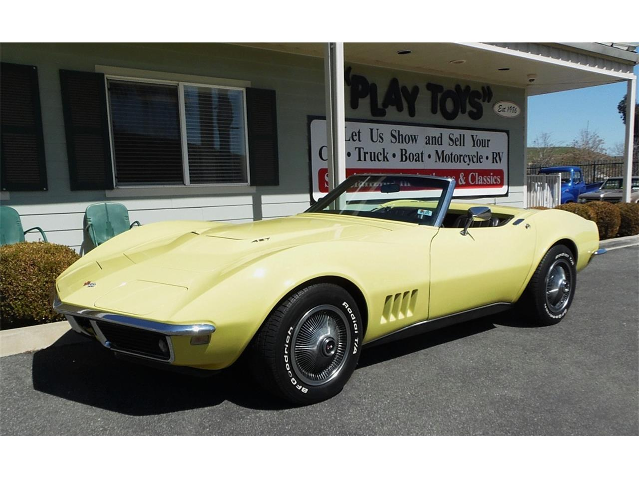 Large Picture of Classic '68 Chevrolet Corvette - $49,995.00 Offered by Play Toys Classic Cars - N606