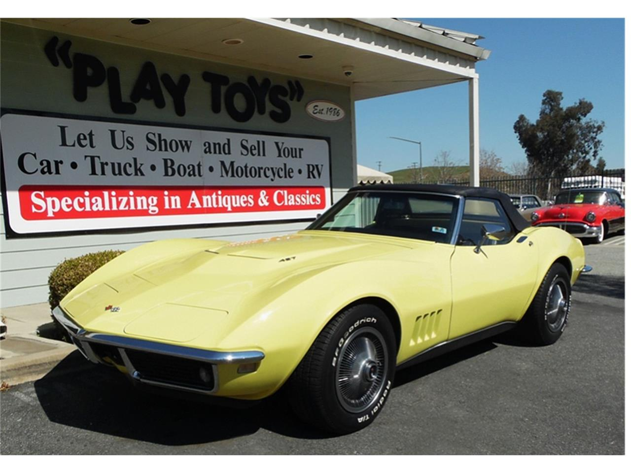 Large Picture of Classic '68 Chevrolet Corvette located in California Offered by Play Toys Classic Cars - N606