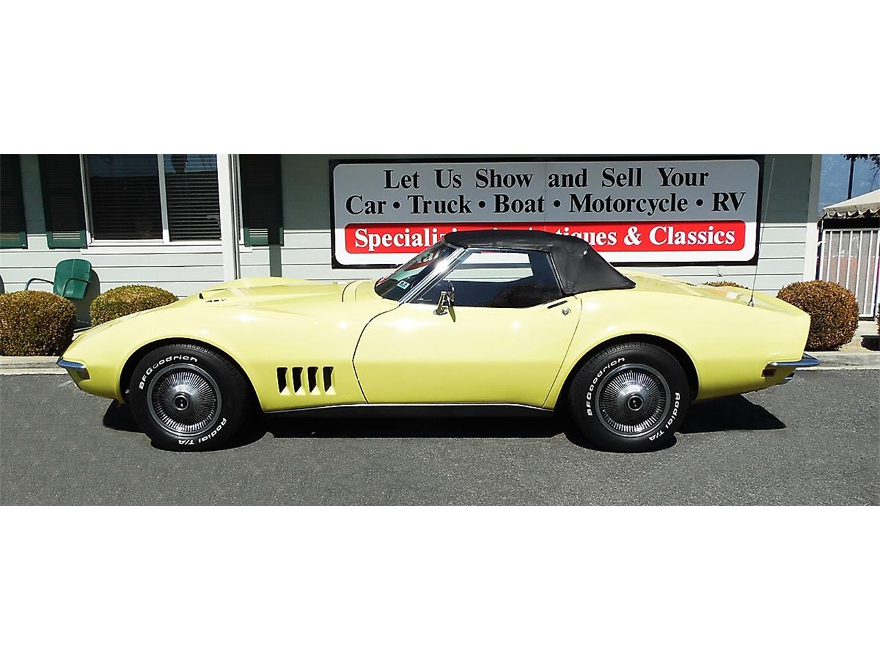 Large Picture of '68 Chevrolet Corvette located in California - $49,995.00 Offered by Play Toys Classic Cars - N606