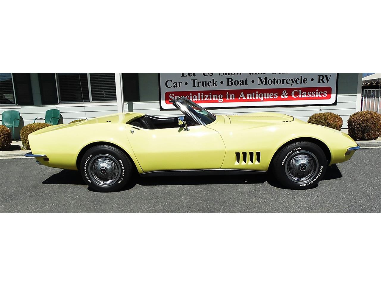 Large Picture of '68 Chevrolet Corvette located in California - N606