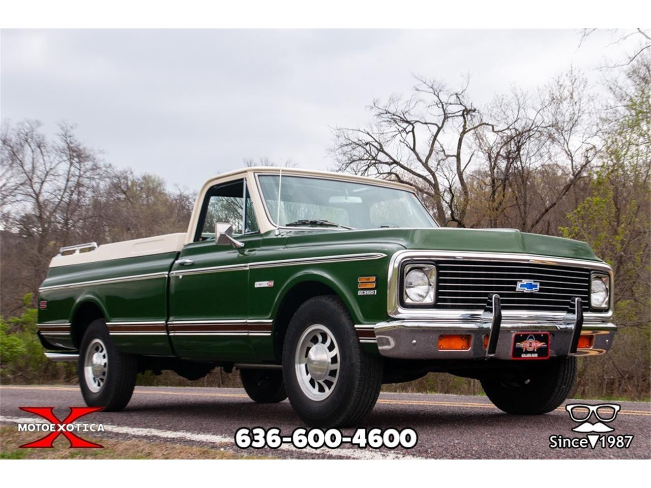 Large Picture of 1971 Chevrolet C20 Fleetside located in Missouri - $26,900.00 Offered by MotoeXotica Classic Cars - NC3N