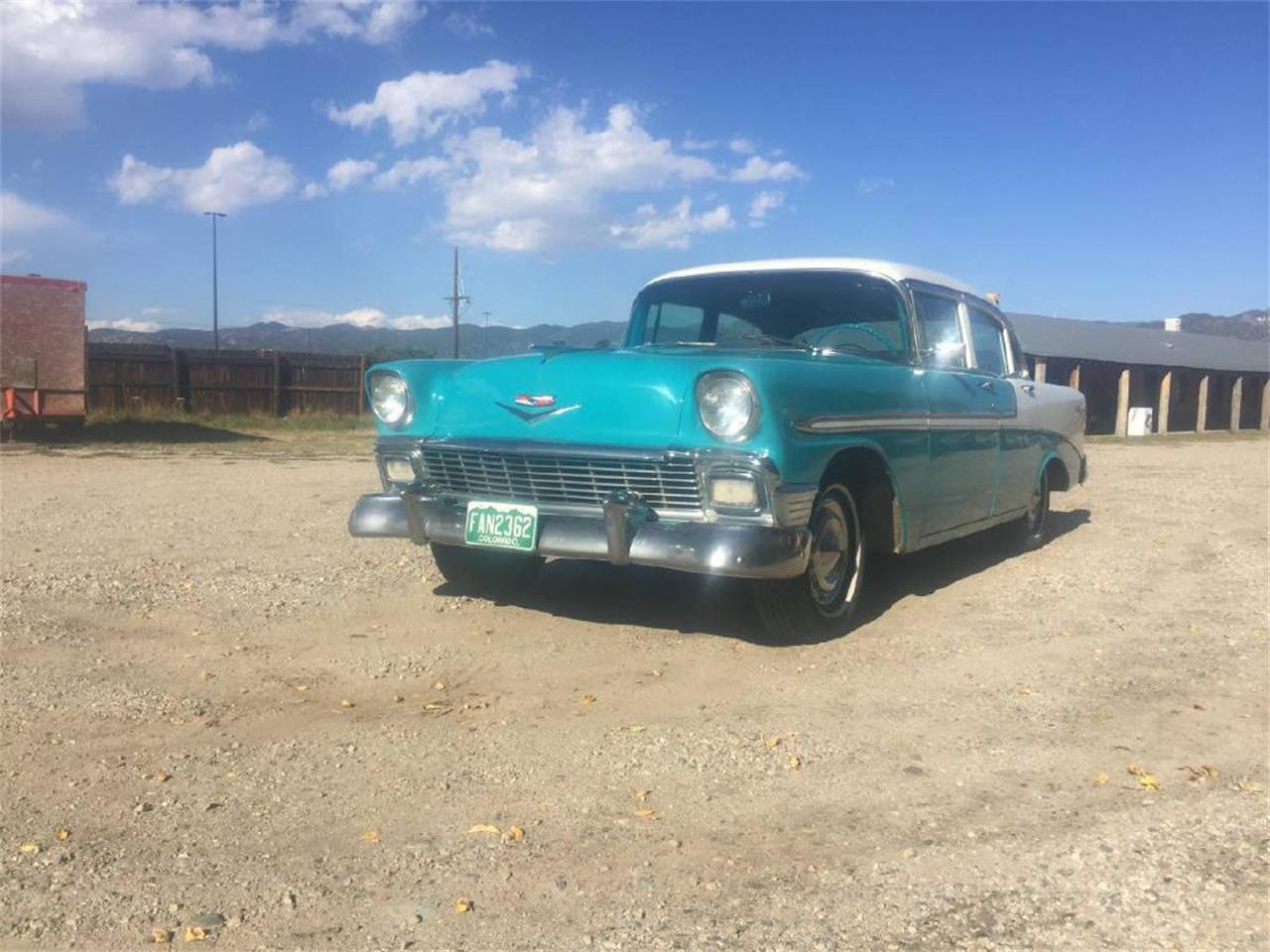 Large Picture of Classic '56 Chevrolet Bel Air located in West Pittston Pennsylvania Offered by Auto Market King LLC - NC72