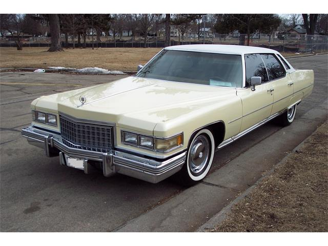 Picture of 1976 Sedan DeVille located in Oshkosh Wisconsin - $8,950.00 Offered by a Private Seller - NCAK