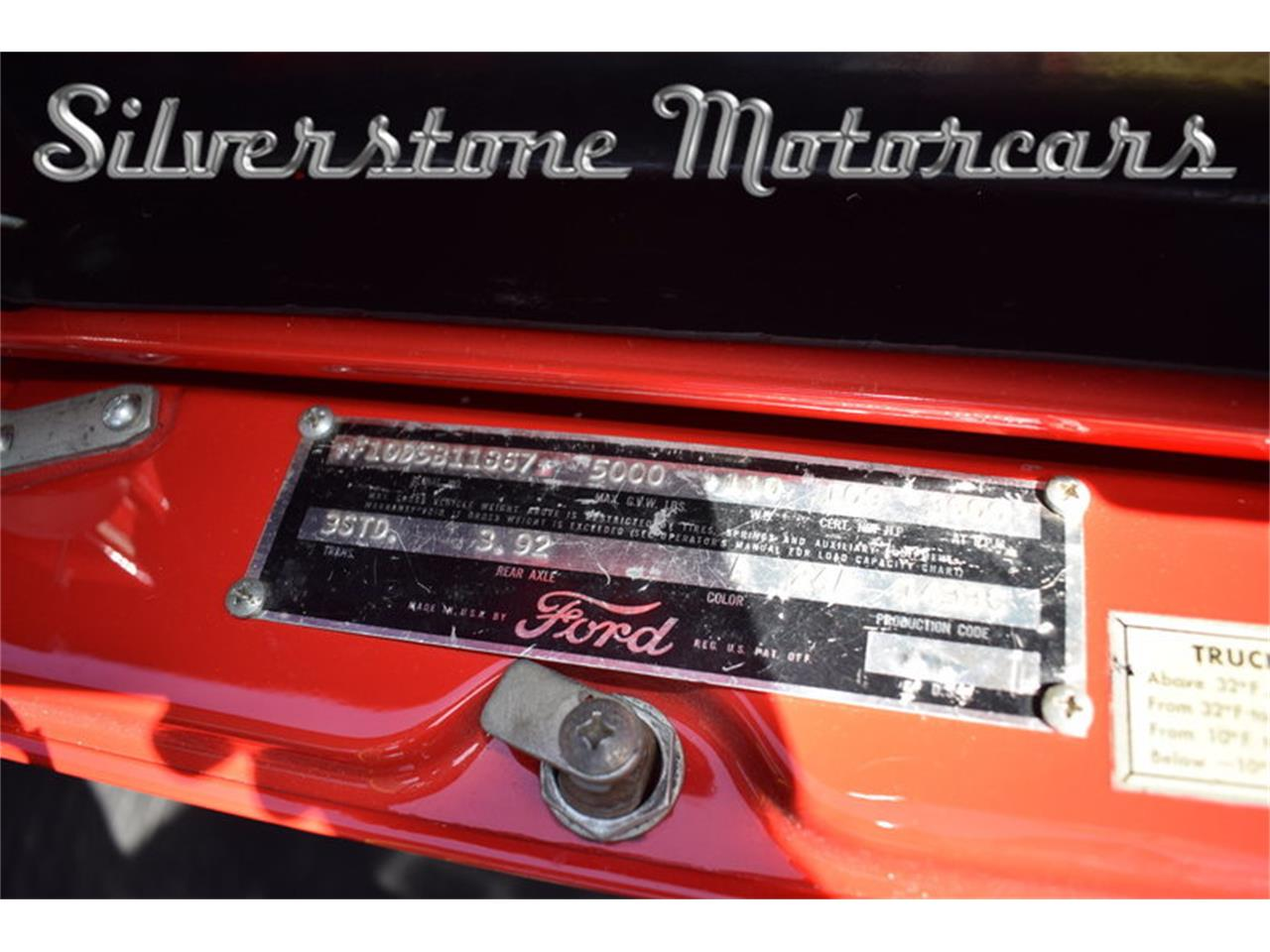 1955 Ford F100 For Sale Cc 1089083 Tail Large Picture Of 55 2250000 Offered By Silverstone Motorcars Nccb