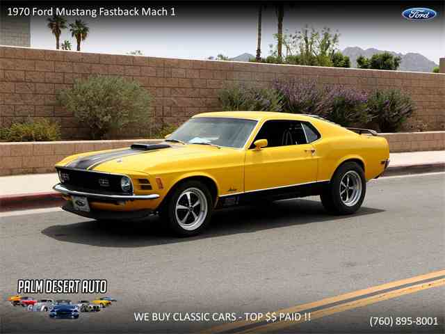 Picture of '70 Mustang Mach 1 - NCG4