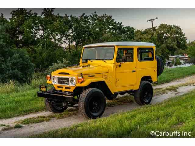 Picture of 1977 Toyota Land Cruiser FJ located in Concord California - $29,950.00 Offered by  - NCJD